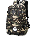 Camouflage Backpack Men Preppy Style Camo School Backpacks for Boy Girl Teenagers High School Middle School Bags Large Capacity