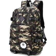 Camouflage Backpack Men Preppy Style Camo School Backpacks for Boy Girl Teenagers High School Middle School