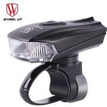 WHEEL UP  Bicycle Head Light Bike Intelligent Front Lamp USB Rechargeable Handlebar LED Lantern Flashlight Night Safe все цены