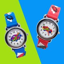 Good quality Cartoon car children watch sports kids watches for girls boys christmas gift students clock child quartz wristwatch