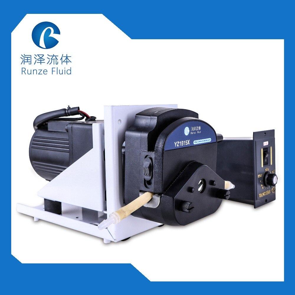 Large Flow 0 2200ml min Peristaltic Dosing Pump 220v AC Motor Speed Adjustable Manufacture
