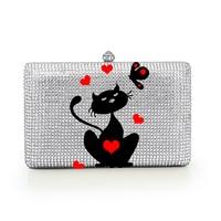 Fashion Crystal your logo Pattern Evening Bag Customized Party Wedding Bag DIY Purse Women Clutch Bag Handbags (B1004 CM)