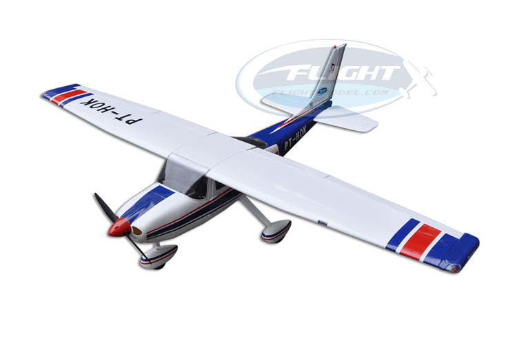 High Quality Balsa Wood Amphibious Cessna 182 RC Airplane Model 1720mm Wing Span 60 Class Glow Electric With Float image