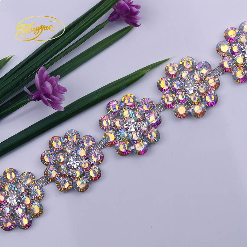 1YD Color Crystal Wedding Wedding Decoration DIY Sewing Embellishment - Արվեստ, արհեստ և կարի - Լուսանկար 1