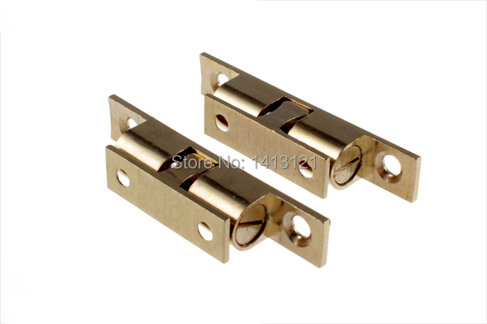150 pieces 42mm brass cabinet Catch metal furniture Hardware part door catch door closer kitchen DIY
