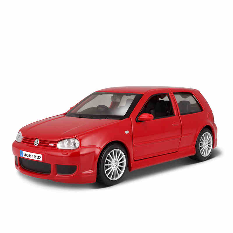 1:24 Volkswagen Golf R32 Simulation Car Model Alloy Car Toy Model For Decoration Gift