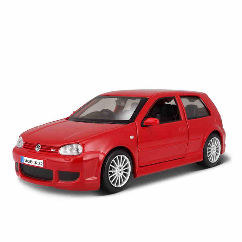 1:24 Volkswagen Golf R32 modelo de coche de simulación de aleación modelo de coche de juguete para regalo de decoración A93 funda de silicona para la llave del coche para Starline A39 A36 A63 A93 alarma de coche de dos vías LCD mando a distancia Fob cubierta llavero Protector piel