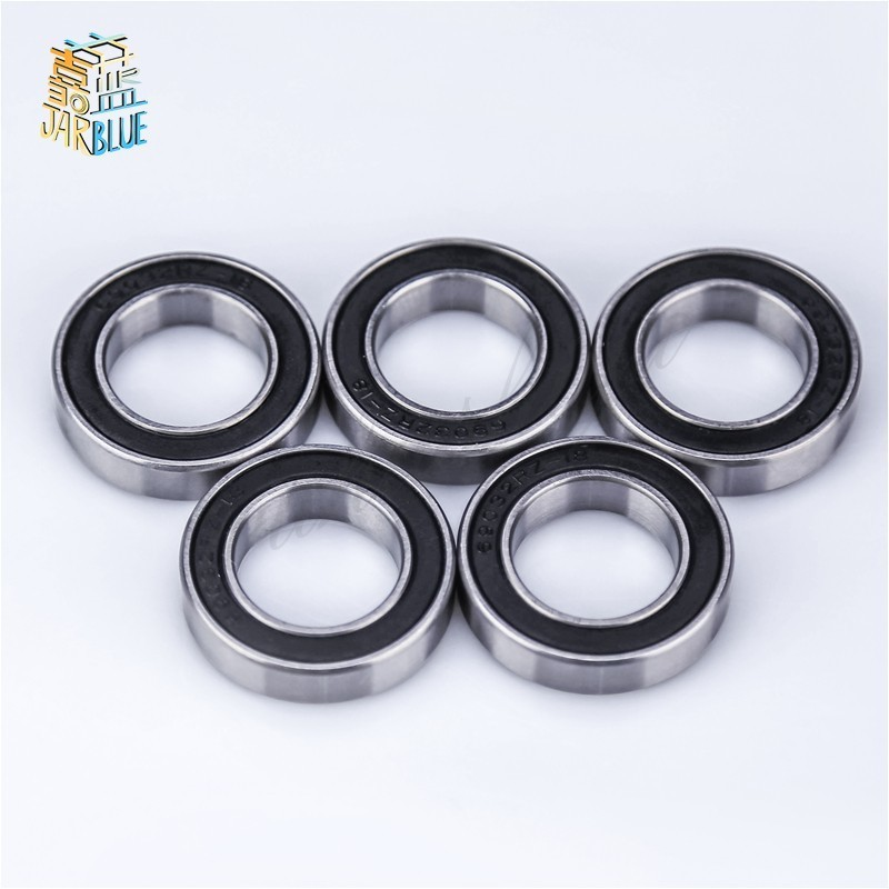 30x42x7mm 2 PCS 440c Stainless Steel Rubber Sealed Ball Bearings S6806-2RS