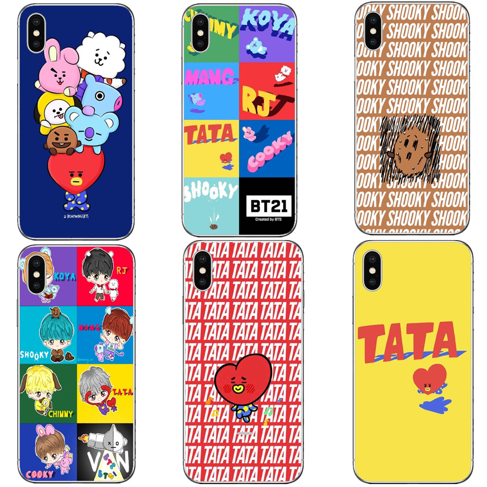 Half-wrapped Case Humble Bts Korea Bangtan Boys Young Forever Bt21 Hard Pc Phone Cases Cover For Iphone 5 5s Se 6 6s Plus 7 7plus 8 8 Plus X 10 Quality And Quantity Assured Cellphones & Telecommunications