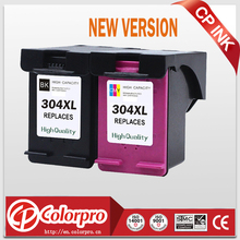 CP 304 Replacement for HP304 304XL New Version Ink Cartridge for Deskjet 2630 3720 2620 2632, HP Envy 5000 printer (1BK/1C)
