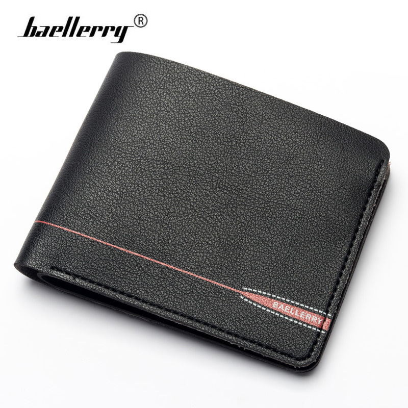 Baellerry Small Soft Leather Wallet Men Zipper Coin Pocket Slim Cards Holder Purse Men Wallets Short Thin Magic Money Purses bogesi men s wallets famous brand pu leather wallets with wallet card holder thin slim pocket coin purse price in us dollars