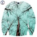 Mr.1991INC New Fashion Men Women Hoodies Print Winter Forest Trees Scenery 3d Sweatshirts Unisex Pullovers