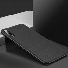 Ultra-thin Breathable Cloth Phone Case Luxury Business Soft Silicone Shockproof For Mi 5X 6 Redmi 4X Note5 Back Cover Coque