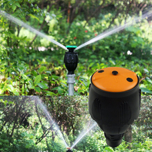 5pcs 1/2″ DN15 360-degree Rotating Nozzle Spraying Radius 8-10 Meters 2 Kinds Angle Agriculture Forestry Irrigation Watering