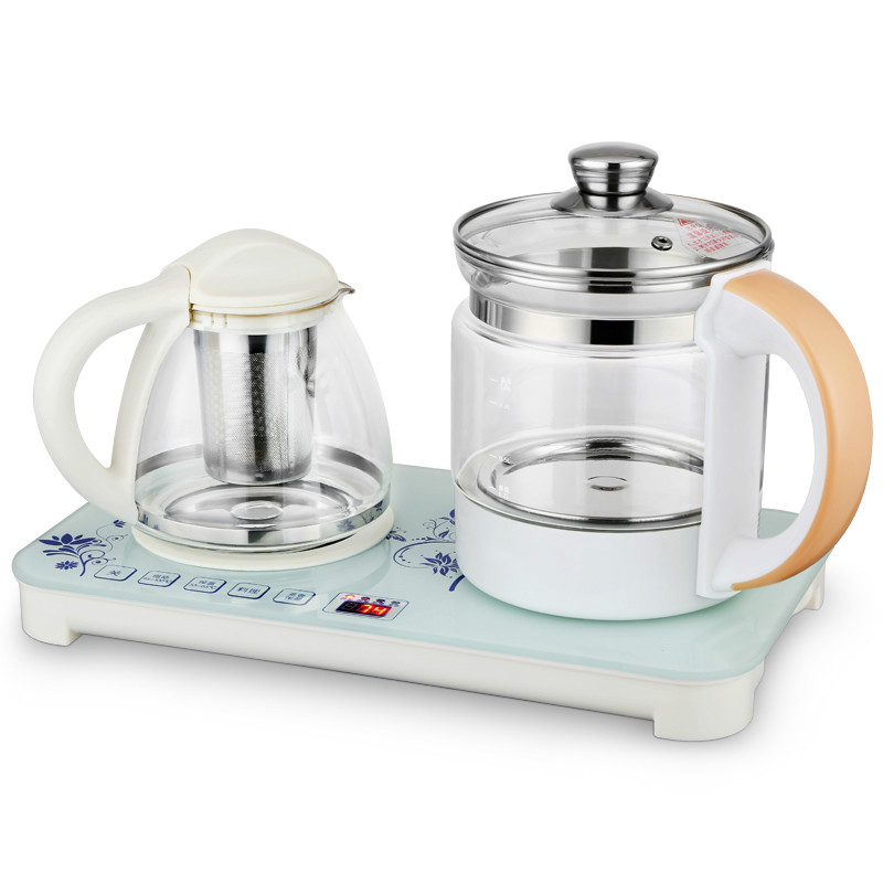 Electric kettle Raise the body pot fully automatic thickened glass and multi-function of tea boiled teapot glas