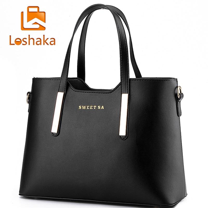 Beautiful Handbag 2017 New Ladies Solid Handbags Women Classic Brand Design