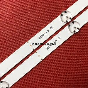 Image 5 - New 10set=20pcs 5LEDs 590mm LED strip for LG TV 32LH510B 32LH51_HD S SSC_32INCH_HD LGE_WICOP_SVL320AL5 Innotek direct 32inch CSP