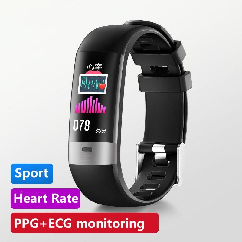 ECG+PPG Smart Watch Bracelet Waterproof Color Screen Elecoronic Digital Watch Multifunction Sport Watches Bluetooth Smartwatch