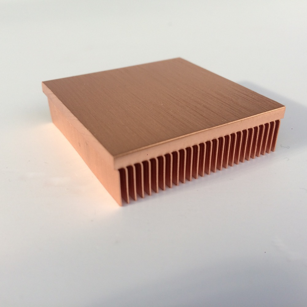 Image 5 - 1pc copper heatsink 40*40*11mm for Chip VGA RAM LED IC radiator COOLER cooling-in Fans & Cooling from Computer & Office