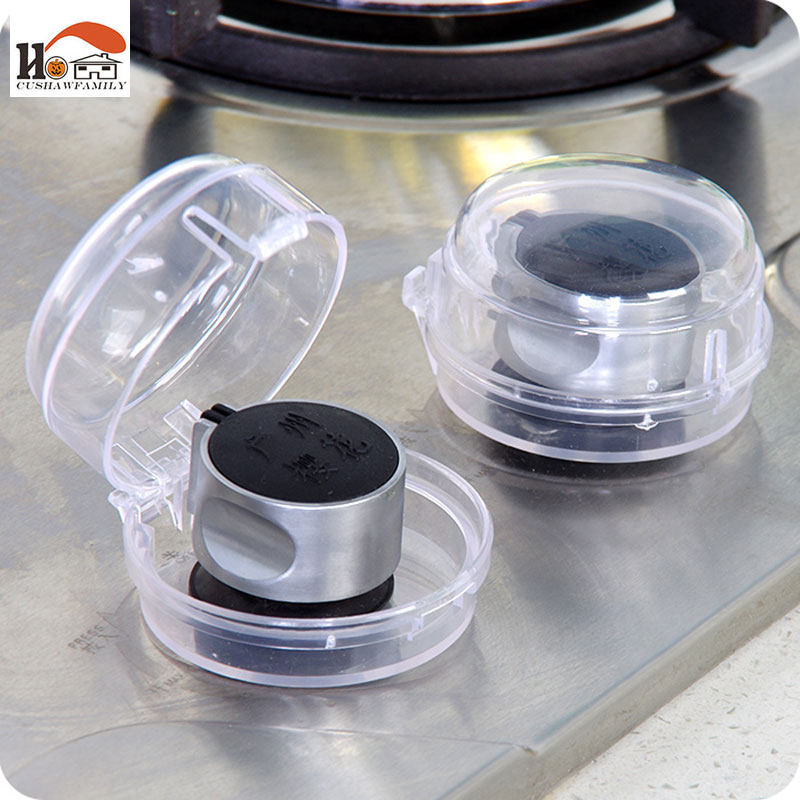 2 Pcs Kitchen Protection for Baby Kids Safety Stove And Oven Knob Cover Bu