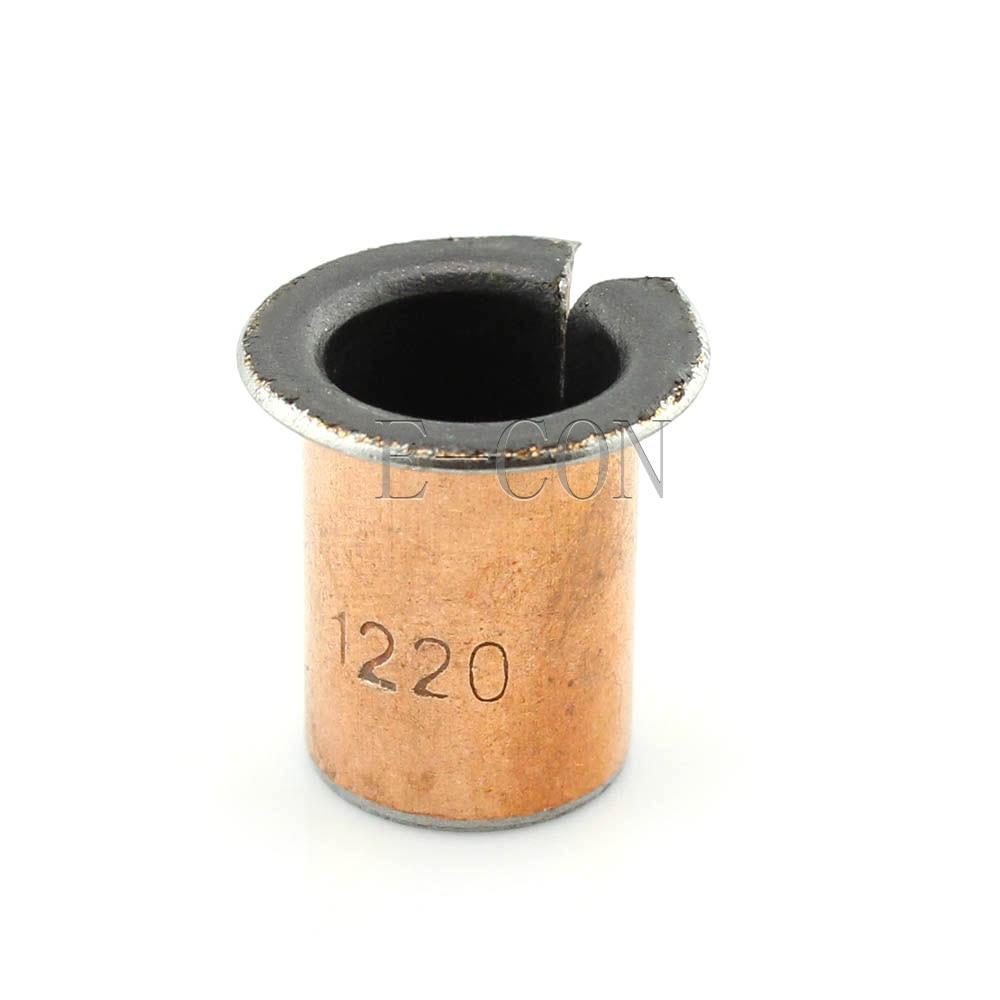 1/5/10PCS SF-1F  1220 Self Lubricating Flanged Openings Bearing Bushing Sleeve 12*14*20