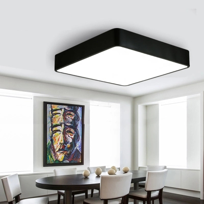 T Square Simple Ceiling Light Modern Simple Lamps For Home Livingroom Bedroom Restaurant Aisle Corridor With LED светильник настенный favourite 1701 1w