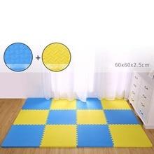 цена на MrY 60x60x2.4cm Leaf Pattern Floor Carpet Crawling Mats Baby Puzzle Mats Sport Rugs Toys Mat For Children Game Pad