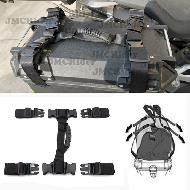 For BMW R1200GS LC F700GS F800GS ADV AADVENTURE Side Box Handle Universal For KTM 1190 1090 1290 For Harley ADV ADVENTURE 2019