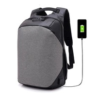 Anti Theft Waterproof Travel Backpack with USB Charging Port & Headphone interface for College Student for Men Laptop Backpack