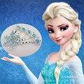 Aliexpress продавать бал-очарованный снег кристалл снежинка волос барретт