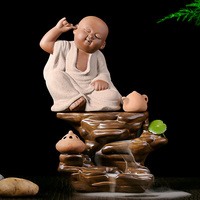 Q version of the little Sami back censer ceramic high aromatic incense cone incense smoke waterfall tours with s