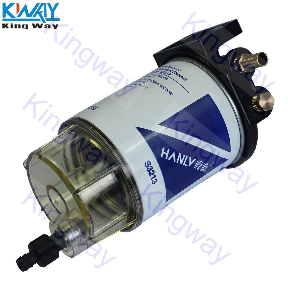 Fuel Filter Heavy Duty Truck Diesel Engine Oil Water Separator 2008 Cobalt Free Shipping King Way 3 8 Npt S3213