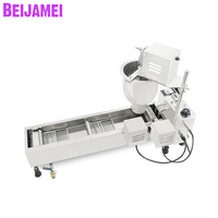 Beijamei Wholesale Automatic Mini Donut Machine Donut Maker Fryer Commercial Doughnut Making Machines for Sale
