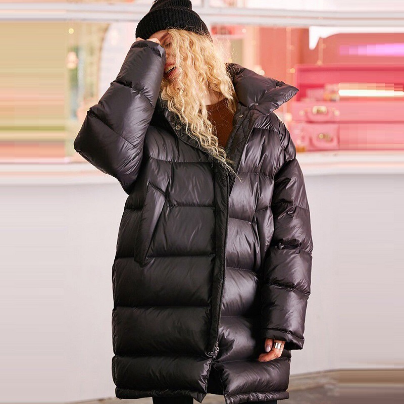 winter women's coats women's down jacket jacket maternity down jacket fashion warm clothing women parkas plus size jacket winter cotton jacket hooded coats women clothing down cotton parkas lady overcoat plus size medium long solid warm jacket female