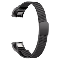 Magnetic Milanese Loop Band For Fitbit Charge 2 Smart Bracelet High Quality Stainless Steel Strap For