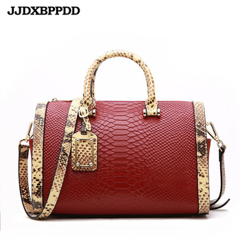 Women Bags Shoulder Handbags Large Capacity Women's Handbags Shoulder Messenger bags Crocodile Pattern Genuine Leather Bag