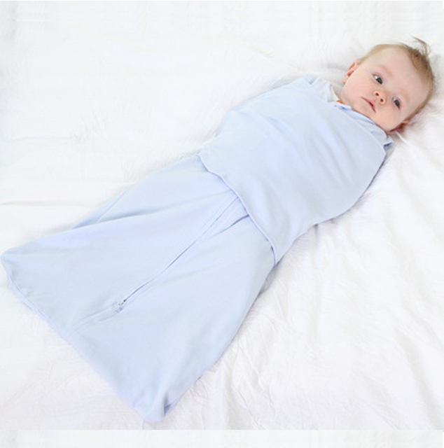 ba2c154d29ce Baby Sleepsack Cotton Baby Swaddle Sleeping Bag Newborn Swaddle Wrap ...