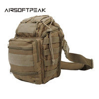 600D Nylon Messenger Shoulder Chest Bag Outdoor Sports Shooting Wargame Tactical Military Army Accessories Bag Pouch