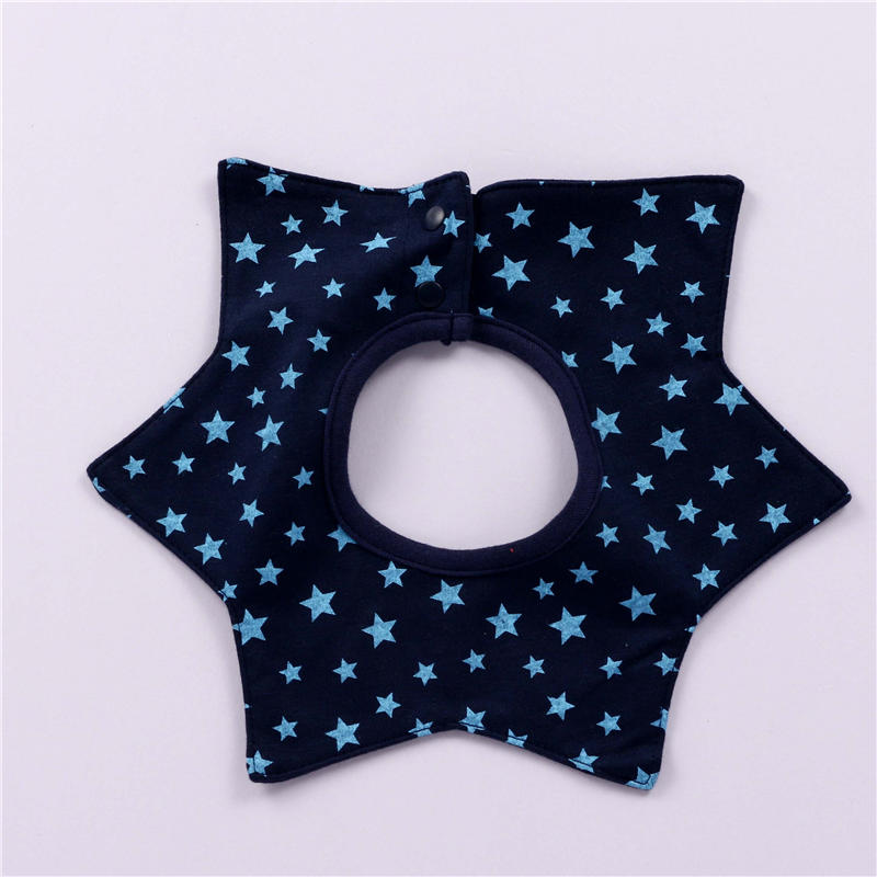 Baby Bids Cotton Saliva Towel Waterproof Bid Food Pocket Soft Baby Feeding  Accessories Pentangular Bibs & Burp Cloths For Kids-in Bibs & Burp Cloths