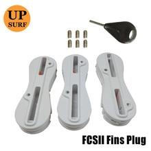 5 degree quillas fcs 2 fin plugs 5sets sales surf acessorys fin key fin box surf fcs ii Fusion Fin Plug