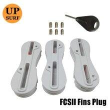 quillas fcs 2 fin plugs surf acessorys fin key 5 degree fin box surf fcs ii Fusion Fin Plug 3pcs sales