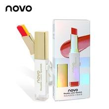 NOVO Brand Two-color Biting Lip Makeup Three-dimensional Lipstick Moisturizing H