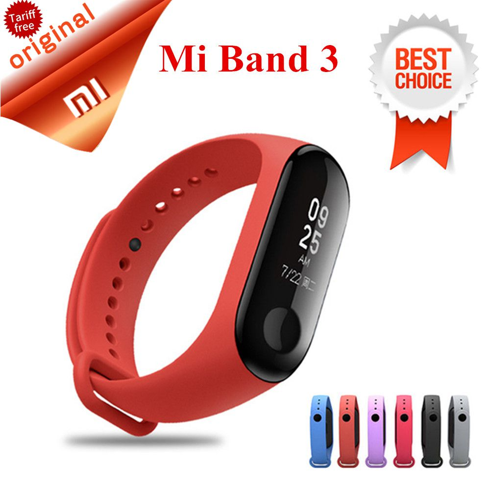 В наличии Xiaomi mi Band 3 умный Браслет mi band 3 с OLED дисплеем touchpad Smart Band пульсометр Xiaomi mi Band 3 купить на AliExpress