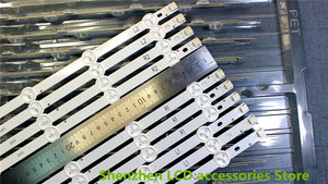 Image 1 - 10 יח\סט עבור LG 42 אינץ 6916L 1412A 6916L 1413A 6916L 1414A 6916L 1415A L1 + R1 = 6PCS L2 + R2 = 4PCS R1 + L1 = 82.4CM R2 + L2 = 82.4CM