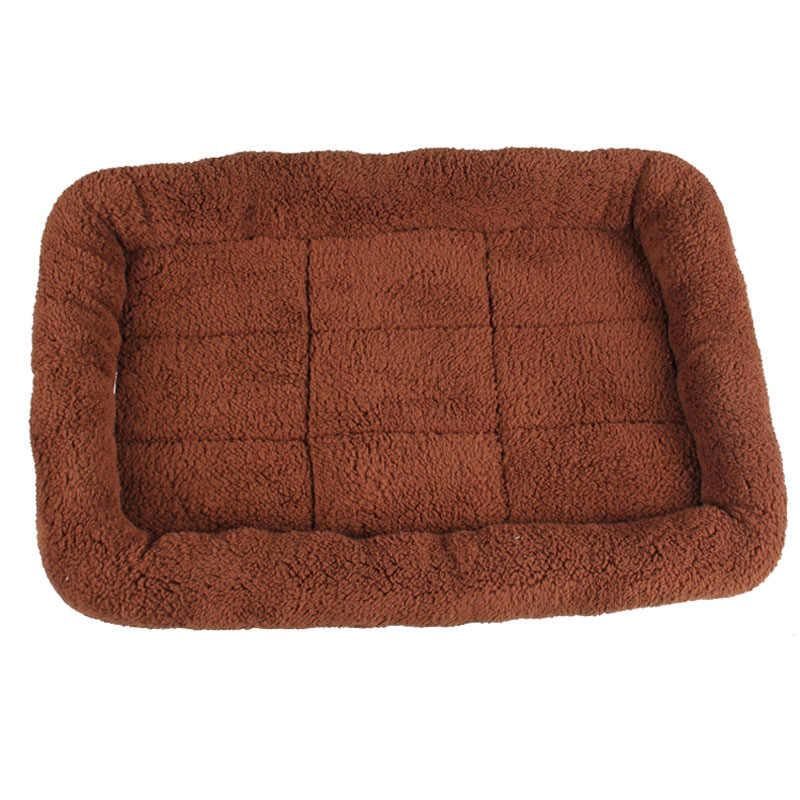 5 Size Pet Grote Hond Bed Soft Fleece Warm Kat Bedden Multifunctionele Puppy Kussen Mat Cama Para Cachorro