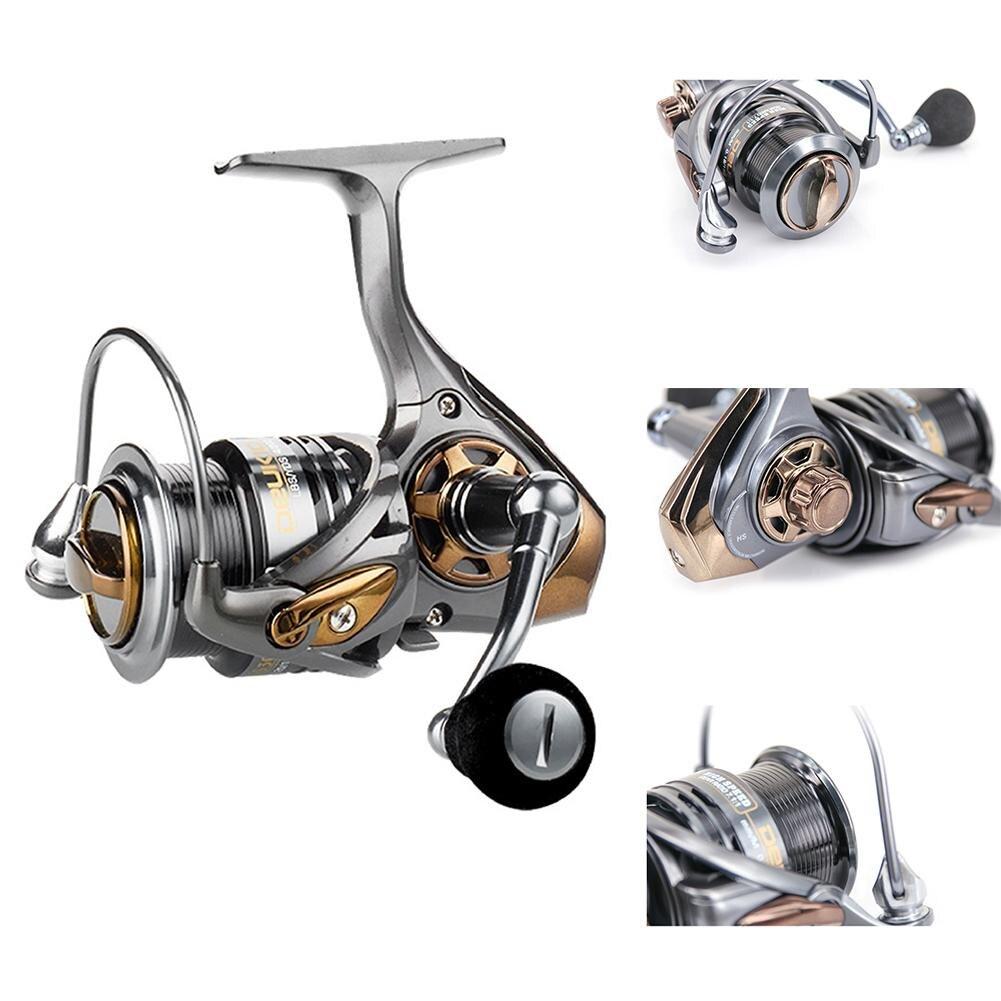 Fishing Reel All Metal Spool Spinning Reel 8KG Max Drag Stainless Steel Handle Line Spool Saltwater Fishing Accessories