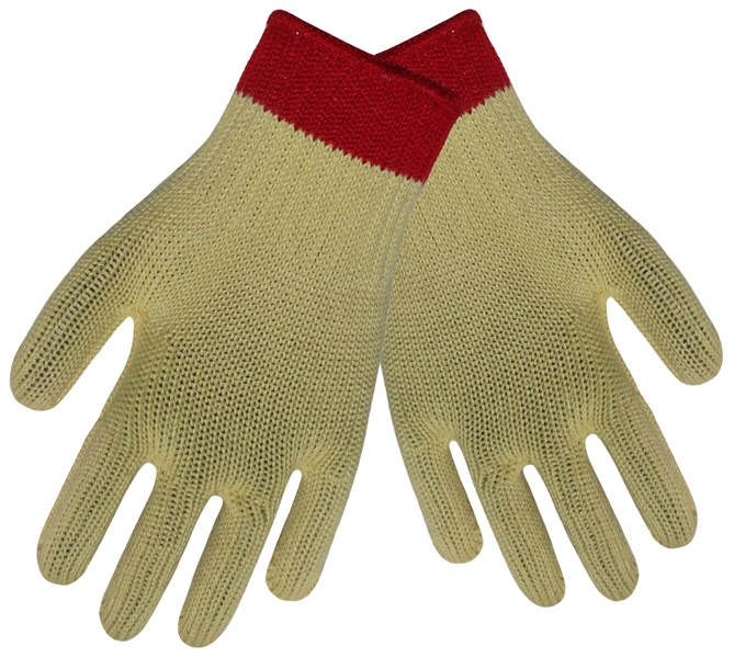 Aramid Fiber Gloves Cut Resistant Safety Gloves HPPE Anti Cut Work Glove