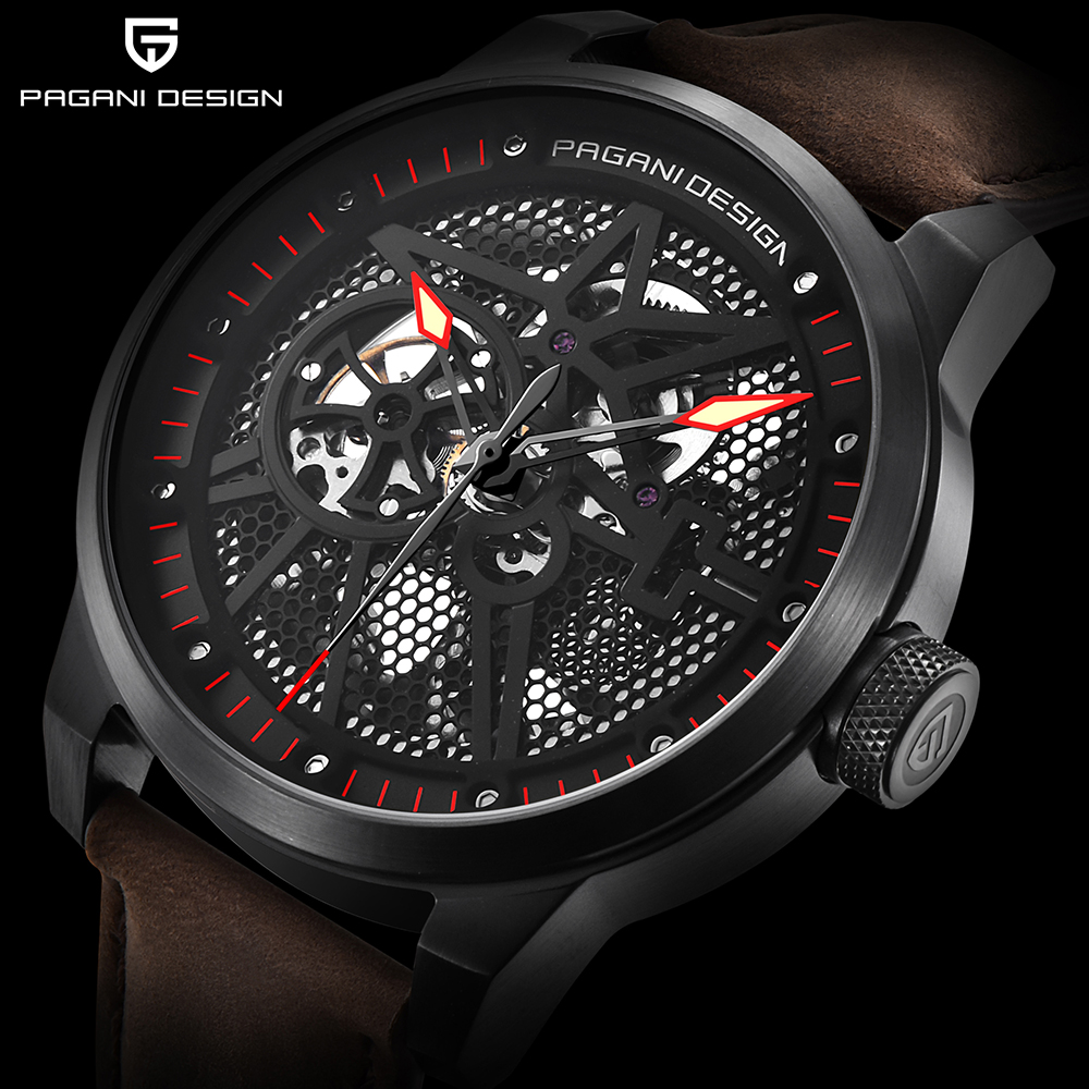 PAGANI DESIGN High Quality Perspective Dial Men Watches Top Brand Luxury Waterproof Automatic Mechanical Wristwatch Mens Clock delivering quality service a pharmaceuticals sector s perspective