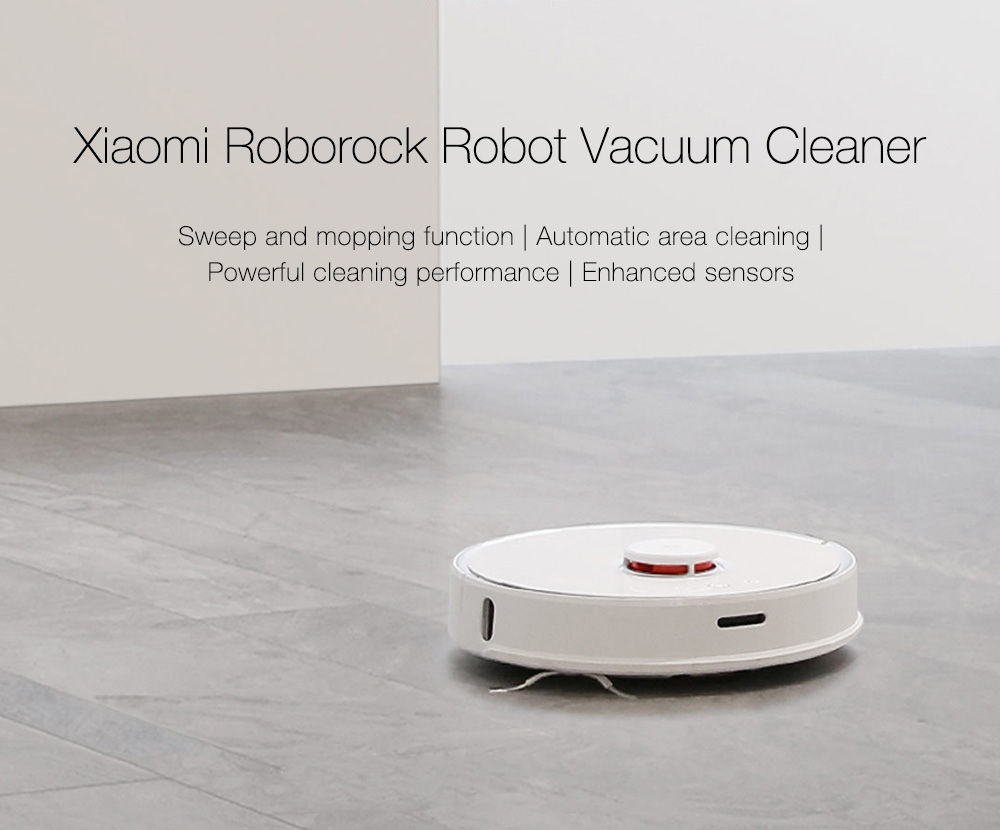 INTERNATIONAL VERSION XIAOMI MIJIA ROBOROCK VACUUM CLEANER 2 AUTOMATIC AREA CLEANING 2000PA SUCTION 2 IN 1 SWEEPING MOPPING FUNCTION 256393 26