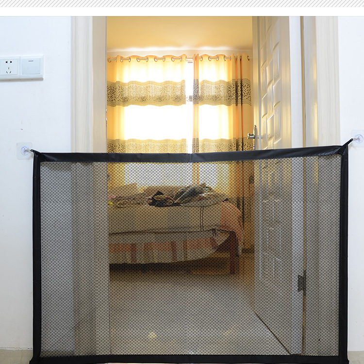 Baby Fencing Gate for Child and pet Safety Protects the Kid and Pet to Enter Unsafe Place in the House 9